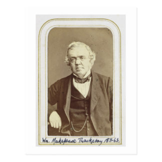 Portrait of William Makepeace Thackeray (1811-63) Postcard