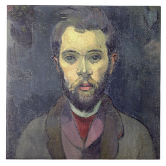 Portrait of William Molard (1862-1936), Swedish (o Large Square Tile