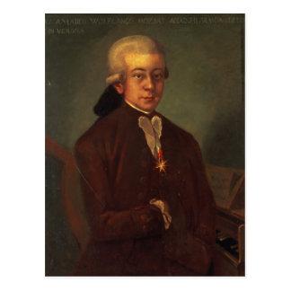 Portrait of Wolfgang Amadeus Mozart 2 Postcard