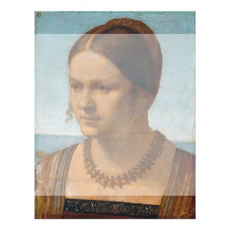 Portrait of Young Venetian Lady by Durer Flyer