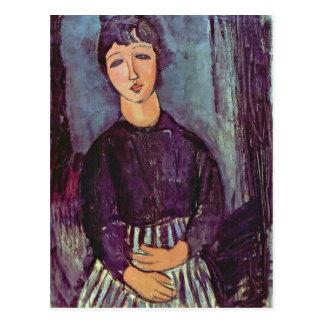 Portrait of Zofe by Amedeo Modigliani Postcard