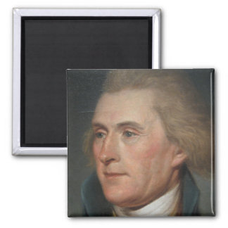 Portrait Painting of Thomas Jefferson Magnet