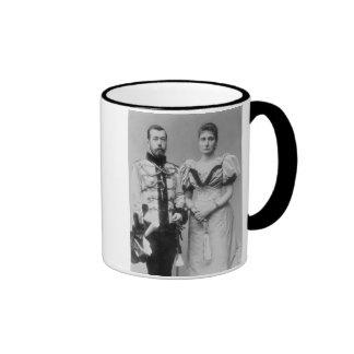 Portrait photograph of Tsar Nicholas II 1868-1918 Mugs
