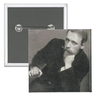 Portrait photograph of Walter Crane (1845-1915) by 15 Cm Square Badge