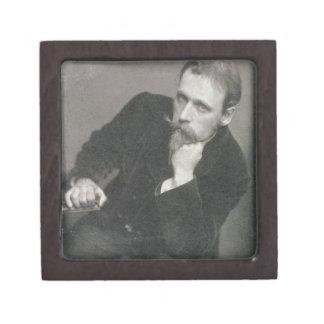 Portrait photograph of Walter Crane (1845-1915) by Premium Jewelry Box