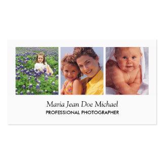 Portrait Photographer Business Card