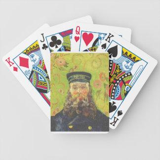 Portrait Postman Joseph Roulin - Vincent van Gogh Bicycle Playing Cards