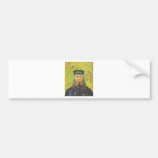 Portrait Postman Joseph Roulin - Vincent van Gogh Bumper Sticker