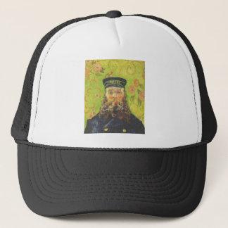 Portrait Postman Joseph Roulin - Vincent van Gogh Cap
