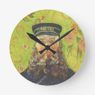 Portrait Postman Joseph Roulin - Vincent van Gogh Clock