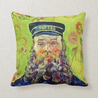 Portrait Postman Joseph Roulin Vincent van Gogh Cushion