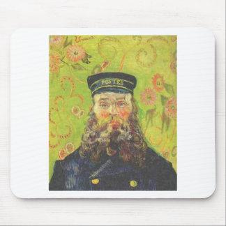 Portrait Postman Joseph Roulin - Vincent van Gogh Mouse Pad