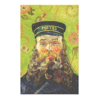 Portrait Postman Joseph Roulin - Vincent van Gogh Personalised Stationery
