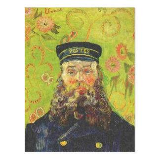 Portrait Postman Joseph Roulin - Vincent van Gogh Postcard