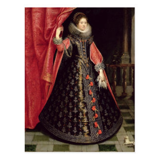 Portrait presumed to be Henrietta Maria of Postcard