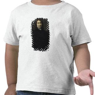 Portrait, presumed to be Rene Descartes T-shirts