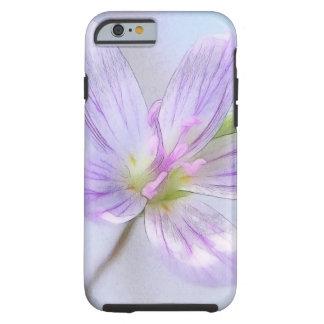 Portrait - Spring Beauty Flower Tough iPhone 6 Case