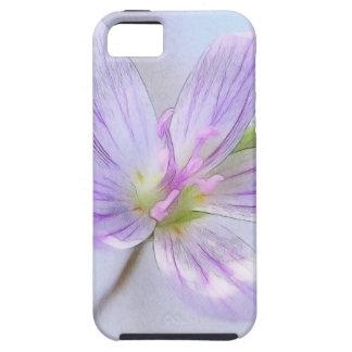 Portrait - Spring Beauty Flower Tough iPhone 5 Case