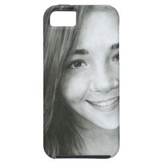 Portrait Tough iPhone 5 Case