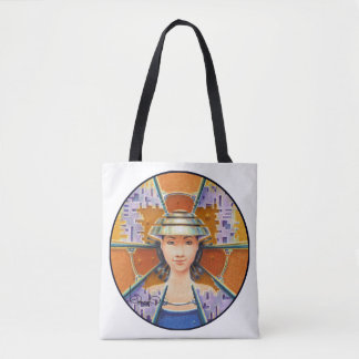 PORTRAIT WITH CHROMED NON-LA (Tote Bag) Tote Bag