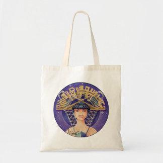 PORTRAIT WITH GOLDEN HEADPIECE ((Tote Bag) Tote Bag