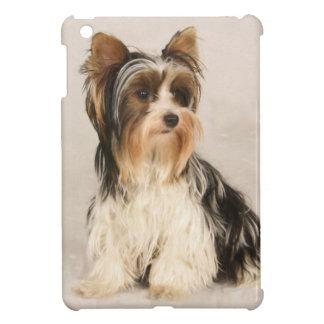 Portrait Yorkie Miss Mia Photo painting iPad Mini Cases