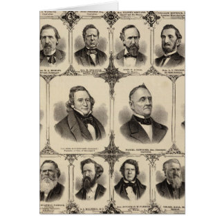 Portraits of Citizens of Scott County Card