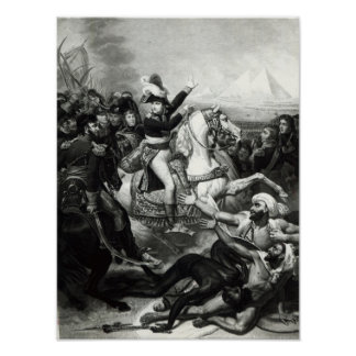 Portrayal of Napoleon as the Conquering Hero Print