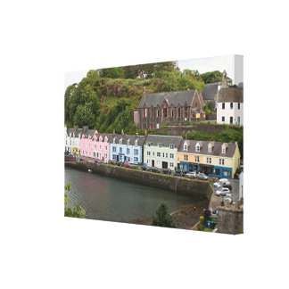 Portree, Isle of Skye, Scotland Canvas Print