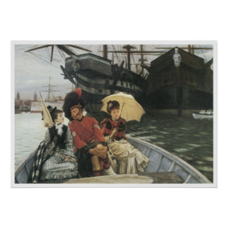 Portsmouth Dockyard, c. 1877 James Tissot Poster