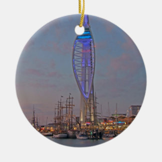 Portsmouth, Hampshire, England Ceramic Ornament