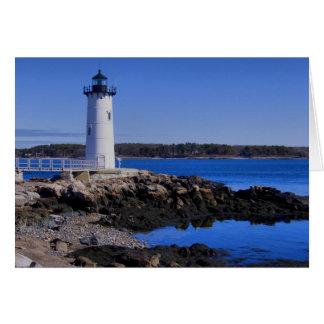 Portsmouth Harbor Lighthouse Card