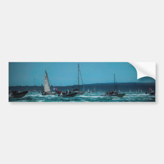 Portsmouth Harbour Boat Race Bumper Sticker