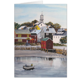 Portsmouth Harbour, New Hampshire Card