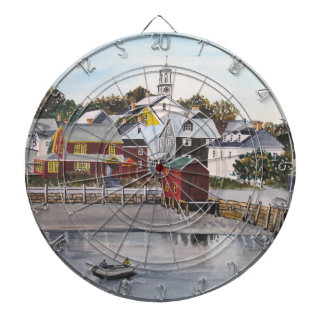 Portsmouth Harbour, New Hampshire Dartboard