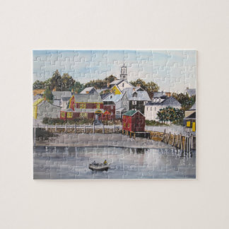Portsmouth Harbour, New Hampshire Jigsaw Puzzle