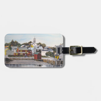 Portsmouth Harbour, New Hampshire Luggage Tag