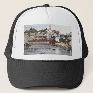 Portsmouth Harbour, New Hampshire Trucker Hat