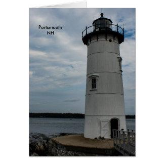 Portsmouth Light Card