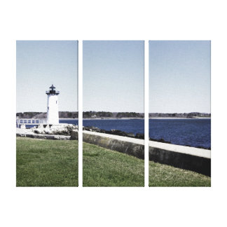 Portsmouth Lighthouse Canvas Print