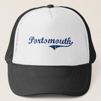 Portsmouth Rhode Island Classic Design Trucker Hat