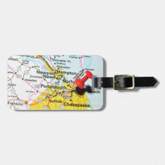 Portsmouth, Virginia Luggage Tag