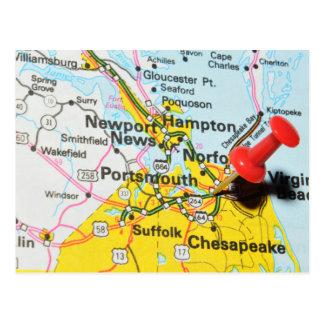Portsmouth, Virginia Postcard