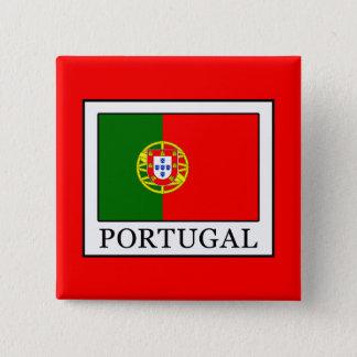 Portugal 15 Cm Square Badge
