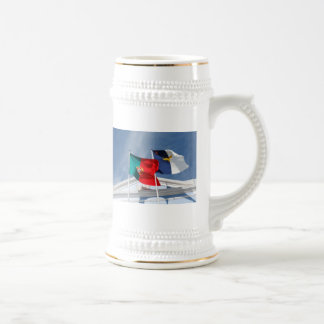 Portugal and Azores flags Coffee Mugs
