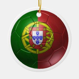 Portugal ball round ceramic decoration