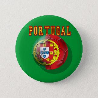 """Portugal"" Bola por Portugueses 6 Cm Round Badge"