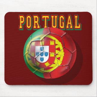 """Portugal"" Bola por Portugueses Mouse Pad"