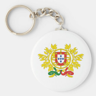 Portugal coat of arms key ring