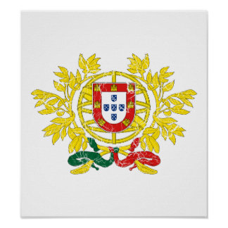 Portugal Coat Of Arms Print